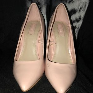 Mauve Pink Business Heels